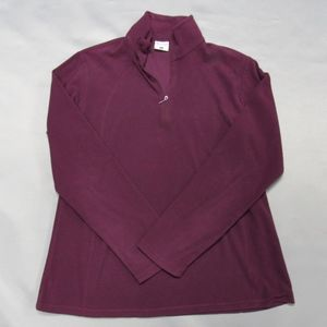 Columbia Women's Half-Zip Grape Jacket L